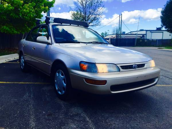 Insurance Rate for 1996 Toyota Corolla DX - Average Quote $87 per Month