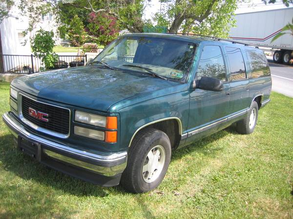 Insurance Rate for 1997 GMC Suburban 1500 2WD - Average Quote $138 per Month