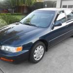 Insurance Rate for 1997 Honda Accord LX sedan - Average Quote $119 per Month