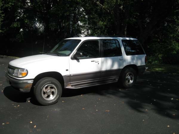 Insurance Rate for 1997 Mercury Mountaineer AWD - Average Quote $78 per Month