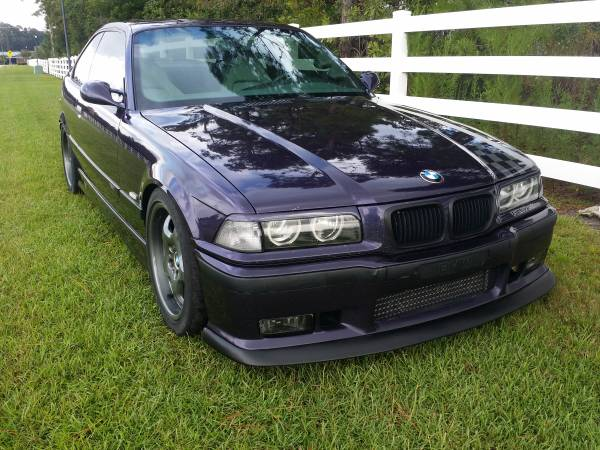 Insurance Rate for 1998 BMW M3 Coupe - Average Quote $62 per Month