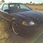 Insurance Rate for 1998 Honda Civic EX coupe - Average Quote $59 per Month
