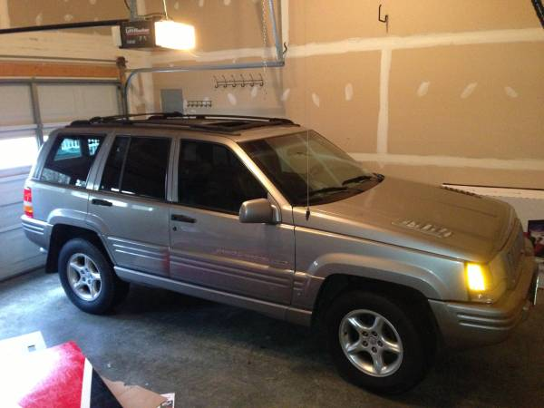 Insurance Rate for 1998 Jeep Grand Cherokee 5.9 Limited 4WD - Average Quote $72 per Month