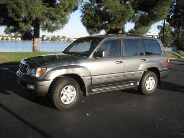 Insurance Rate for 1999 Lexus LX 470 Base - Average Quote $93 per Month