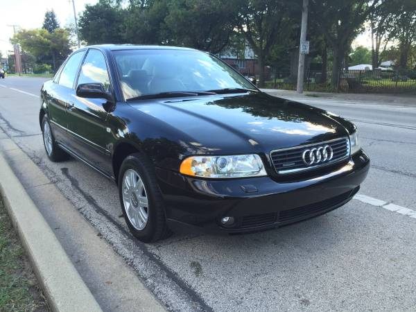 Insurance Rate for 2000 Audi A4 1.8T - Average Quote $39 per Month