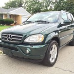 Insurance Rate for 2000 Mercedes-Benz M-Class ML55 AMG - Average Quote $48 per Month
