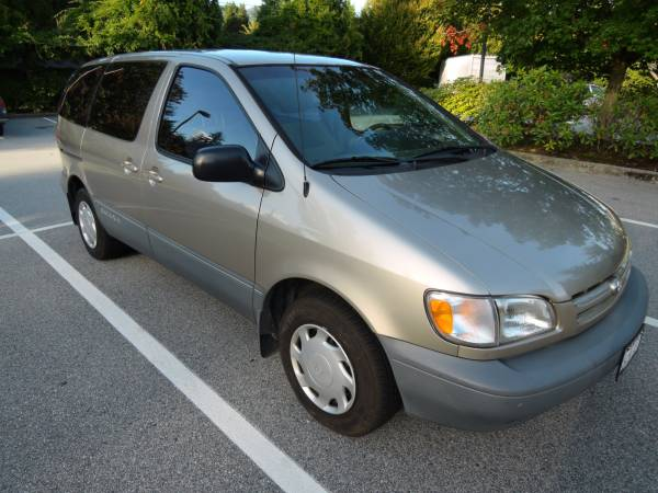 Insurance Rate for 2000 Toyota Sienna CE 4-Door - Average Quote $39 per Month