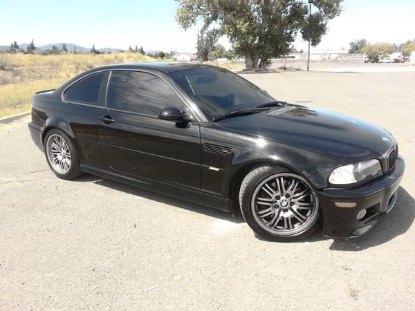 Insurance Rate for 2001 BMW M3 Coupe - Average Quote $145 per Month