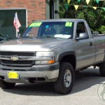 Insurance Rate for 2001 Chevrolet Silverado 2500HD - Average Quote $69 per Month