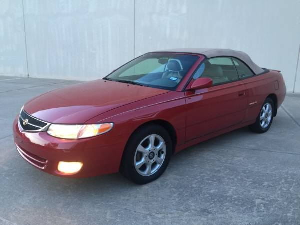 Insurance Rate for 2001 Toyota Camry Solara - Average Quote $70 per Month