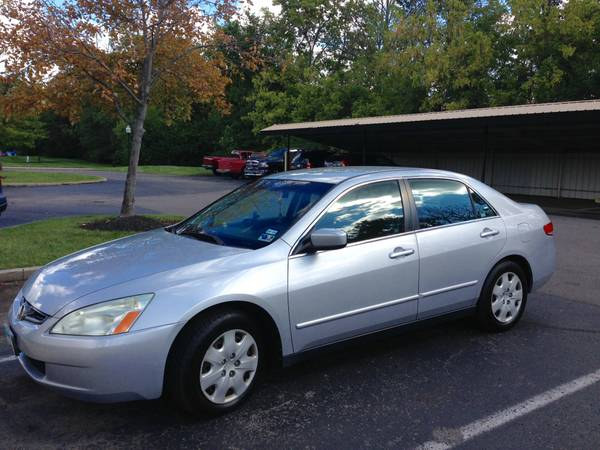 Insurance Rate for 2003 Honda Accord LX V6 sedan AT - Average Quote $55 per Month