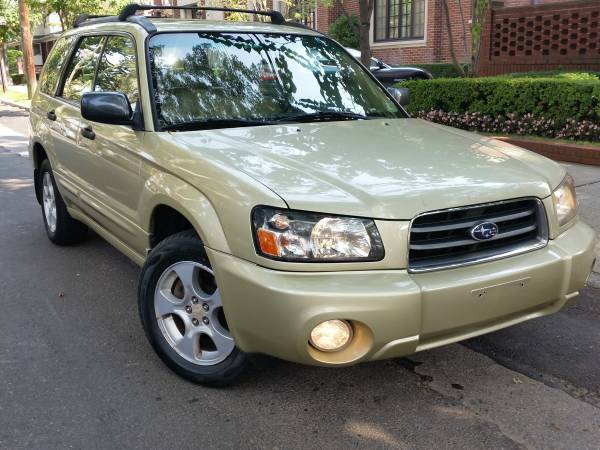 Insurance Rate for 2003 Subaru Forester - Average Quote $50 per Month
