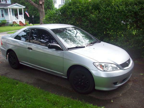 Insurance Rate for 2005 Honda Civic VP coupe - Average Quote $47 per Month
