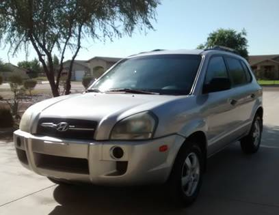 Insurance Rate for 2005 Hyundai Tucson GL 2.0 2WD - Average Quote $46 per Month
