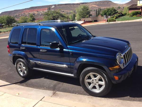 Insurance Rate for 2005 Jeep Liberty Limited 2WD - Average Quote $58 per Month