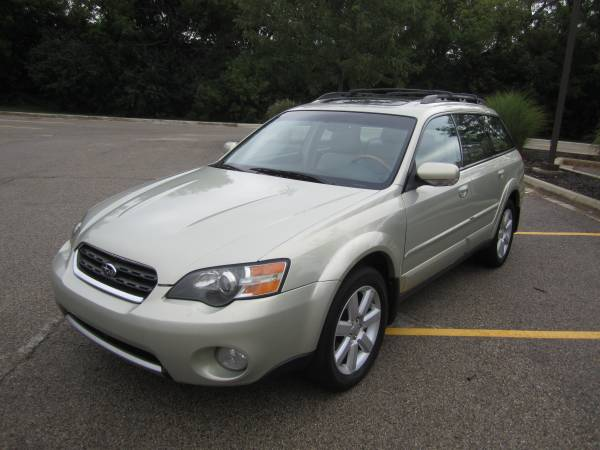 Insurance Rate for 2005 Subaru Outback 3.0R L.L.Bean Edition Wagon - Average Quote $64 per Month