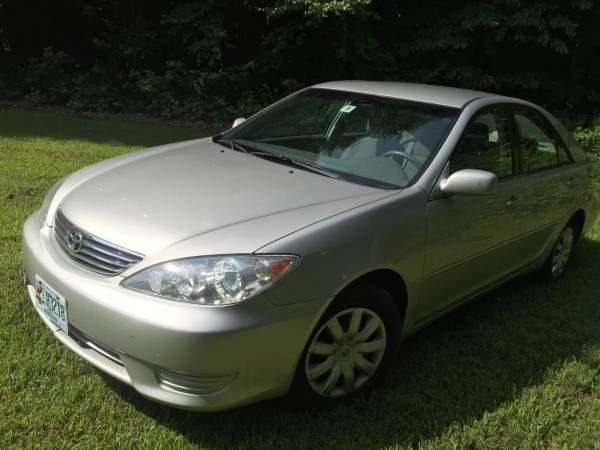 Insurance Rate for 2005 Toyota Camry - Average Quote $60 per Month