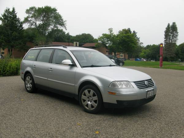 Insurance Rate for 2005 Volkswagen Passat Wagon GLS - Average Quote $40 per Month