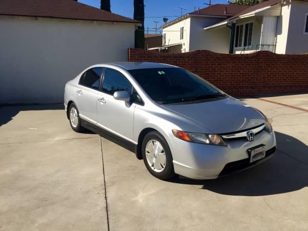 Insurance Rate for 2006 Honda Civic GX Sedan AT - Average Quote $59 per Month