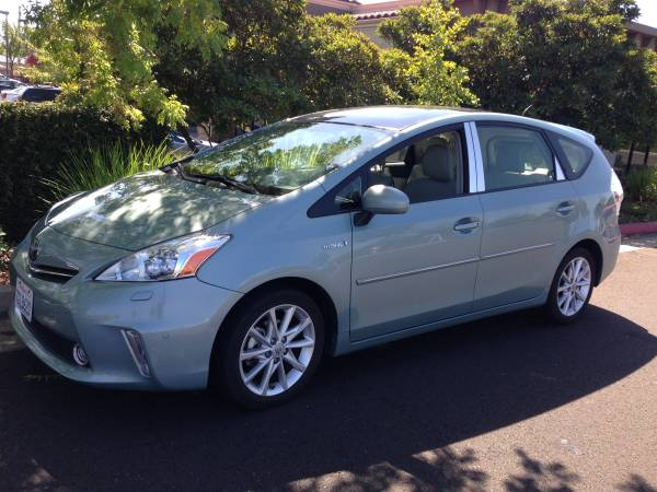 Insurance Rate for 2013 Toyota Prius V - Average Quote $159 per Month