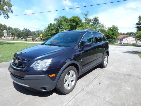 Insurance Rate for 2014 Chevrolet Captiva Sport 2LS FWD - Average Quote $141 per Month