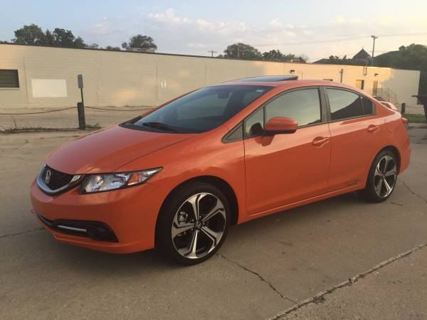 Insurance Rate for 2014 Honda Civic Si Sedan 6-Speed MT - Average Quote $132 per Month