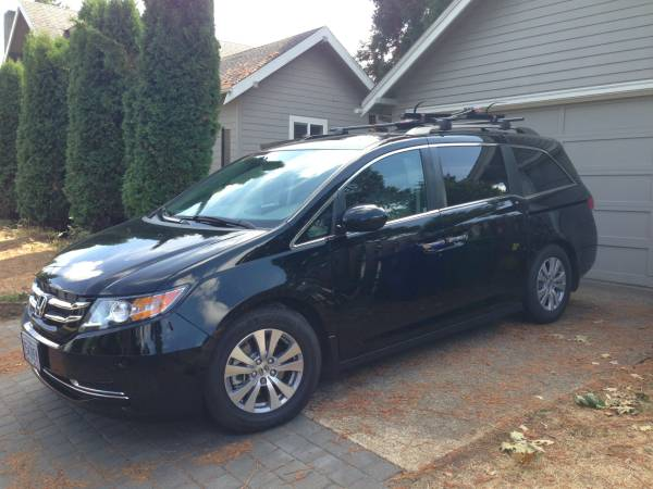 Insurance Rate for 2015 Honda Odyssey EX-L - Average Quote $253 per Month