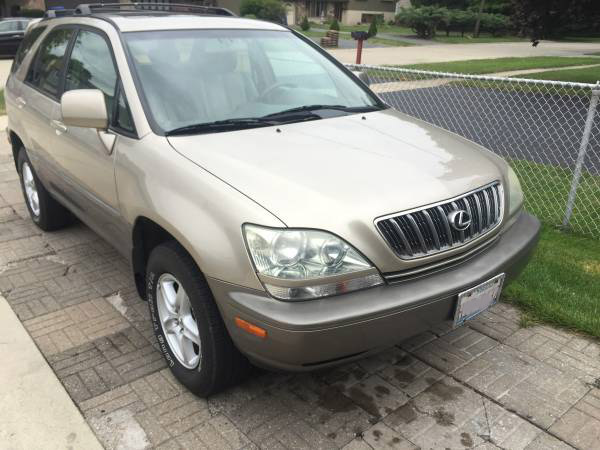 Insurance Rate for 2001 Lexus RX 300 4WD - Average Quote $64 per Month