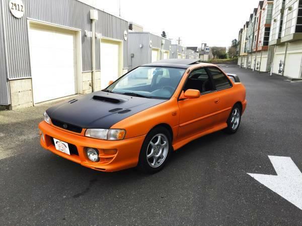 Insurance Rate for 2001 Subaru Impreza 2.5 RS Coupe - Average Quote $37 per Month