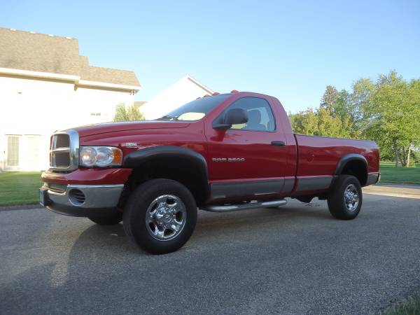Insurance Rate for 2003 Dodge Ram 2500 - Average Quote $139 per Month