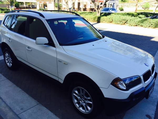 Insurance Rate for 2004 BMW X3 2.5i - Average Quote $67 per Month