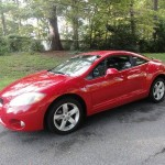 Insurance Rate for 2007 Mitsubishi Eclipse GT - Average Quote $70 per Month