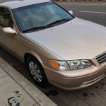 Insurance Rate for 2001 Toyota Camry - Average Quote $39 per Month