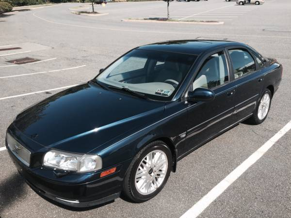 Insurance Rate for 2002 Volvo S80 2.9 - Average Quote $70 per Month