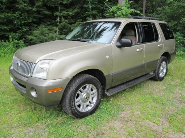 Insurance Rate for 2003 Mercury Mountaineer - Average Quote $44 per Month
