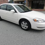 Insurance Rate for 2007 Chevrolet Impala LS - Average Quote $41 per Month