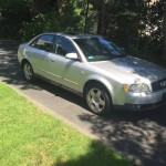 Insurance Rate for 2002 Audi A4 - Average Quote $44 per Month