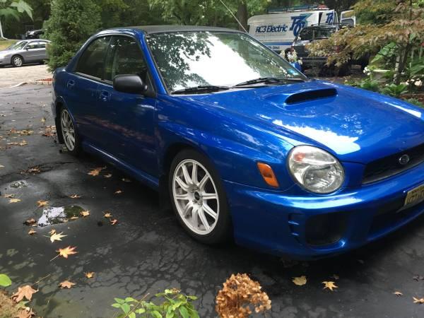 Insurance Rate for 2002 Subaru Impreza WRX - Average Quote $85 per Month