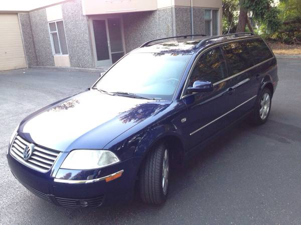 Insurance Rate for 2002 Volkswagen Passat Wagon GLX - Average Quote $40 per Month