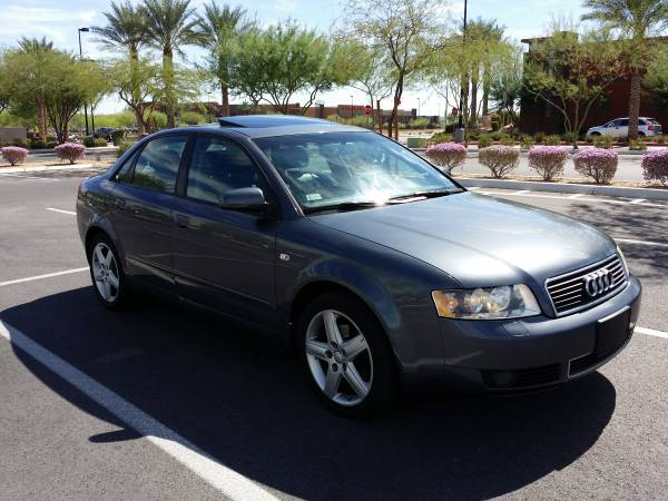Insurance Rate for 2004 Audi A4 - Average Quote $44 per Month
