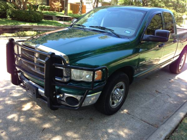 Insurance Rate for 2004 Dodge Ram 2500 - Average Quote $169 per Month
