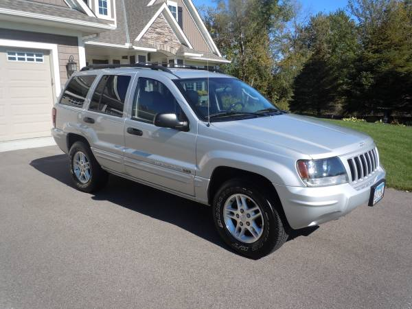 Insurance Rate for 2004 Jeep Grand Cherokee - Average Quote $113 per Month