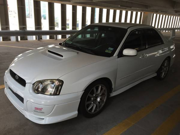 Insurance Rate for 2004 Subaru Impreza WRX Sti - Average Quote $125 per Month