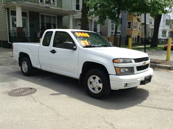 Insurance Rate for 2007 Chevrolet Colorado - Average Quote $60 per Month
