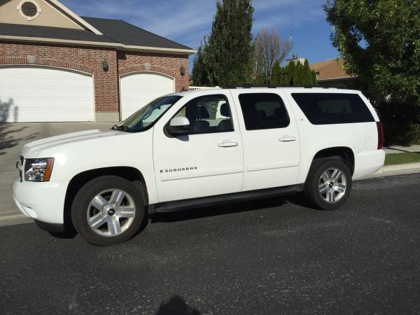 Insurance Rate for 2007 Chevrolet Suburban - Average Quote $138 per Month