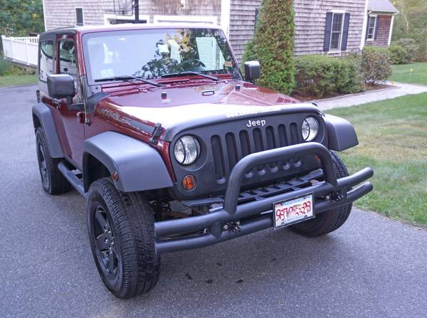 Insurance Rate for 2007 Jeep Wrangler X - Average Quote $131 per Month