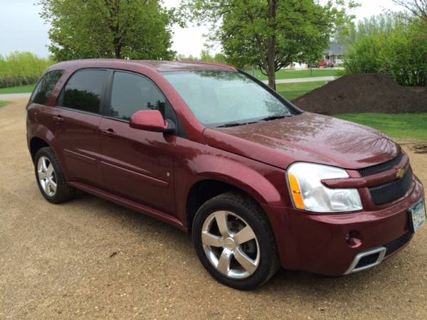 Insurance Rate for 2008 Chevrolet Equinox Sport AWD - Average Quote $100 per Month