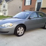 Insurance Rate for 2008 Chevrolet Impala LS - Average Quote $68 per Month
