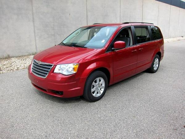Insurance Rate for 2008 Chrysler Town & Country Touring - Average Quote $88 per Month