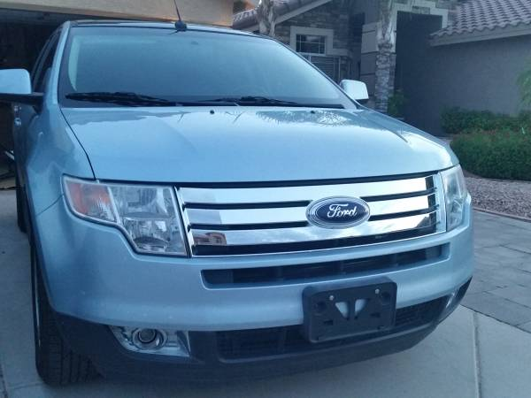 Insurance Rate for 2008 Ford Edge SEL FWD - Average Quote $99 per Month